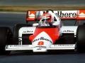Lauda in McLaren 1984