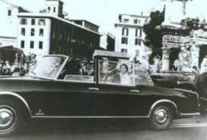 Flaminia Presidenziale con Regina Elisabetta