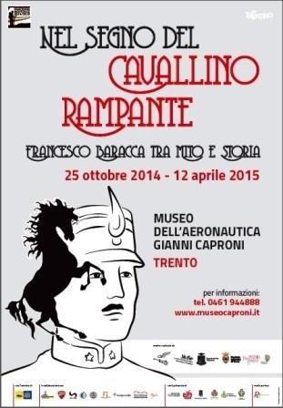 """Mostra """"Nel segno del cavallino rampante"""" presso il Museo Gianni Caproni di Trento."""
