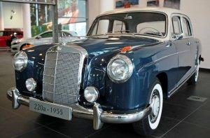 Mercedes 220a-1955