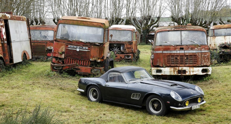 Collezione Roger Baillon: il sogno di tutti i cercatori d'auto d'epoca.