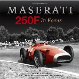 Libro Maserati 250F in focus
