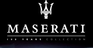 I modellini da collezione per i 100 anni della Maserati.