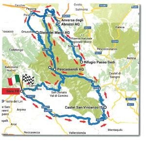 Mappa Coppa dei Lupi 2015