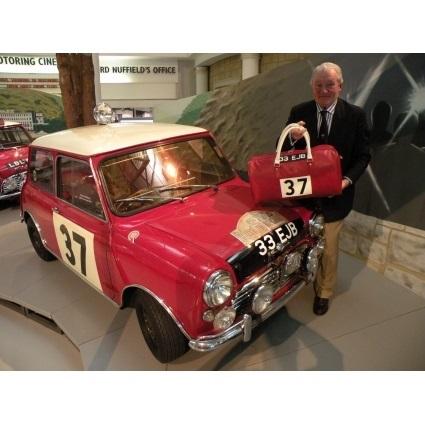 Borsa Caracalla Monza Mini Hopkirk: il borsone giusto per la mini.