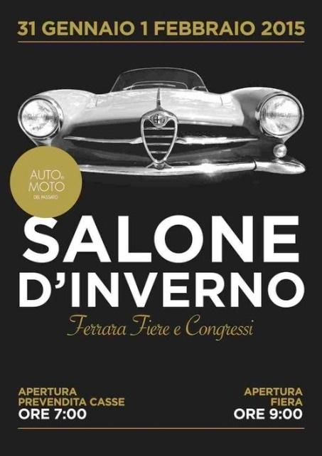 Auto e Moto del Passato – Salone d'Inverno – Ferrara