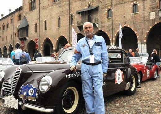 Corrado Lopresto nuovo ambasciatore degli orologi Eberhard & Co.