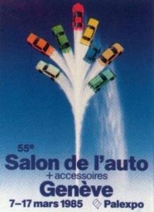 Mainifesto Salone Ginevra 1985