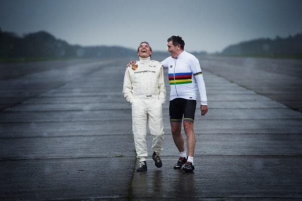 Il Belgio rende omaggio a due suoi grandi Campioni: Merckx & Ickx.