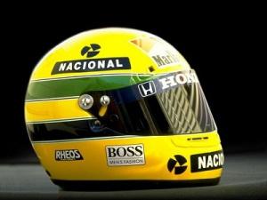 Casco Ayrton Senna