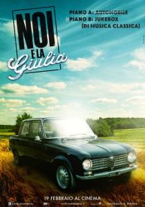 Film Noi e la Giulia 2015 -locandina 2