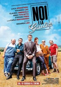 Film Noi e la Giulia 2015 -locandina
