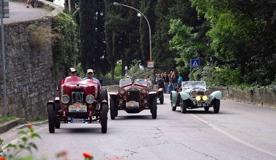 Firenze-Fiesole 2015: il concorso di eleganza dinamico.