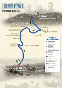 Firenze-Fiesole 2015 -mappa