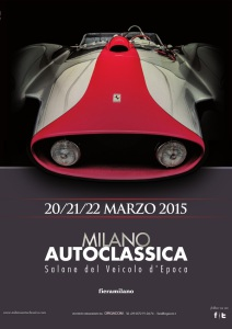 Locandina Milano AutoClassica