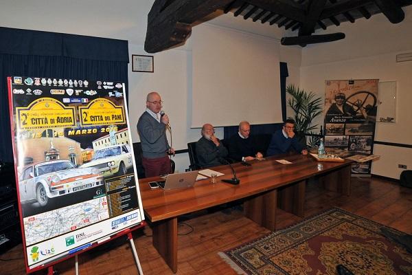 2° Rally Storico Città di Adria: presentazione ufficiale.