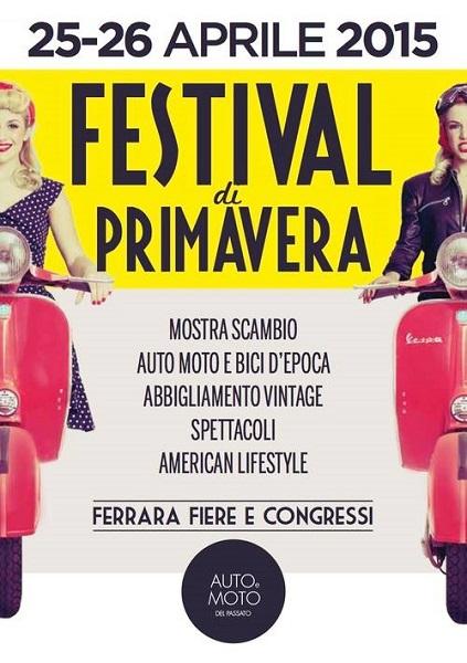 Festival di Primavera: un salone d'auto e automobilia particolarmente vintage.