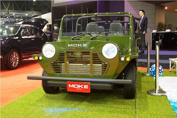 Mini Moke: il ritorno in produzione.