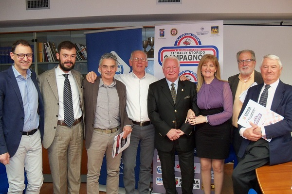 Il Rally Campagnolo: presentazione ufficiale.