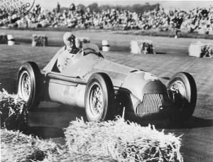 Farina su Alfa 158 nel 1950