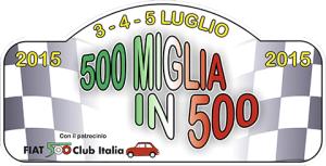 Logo 500 Miglia in 500