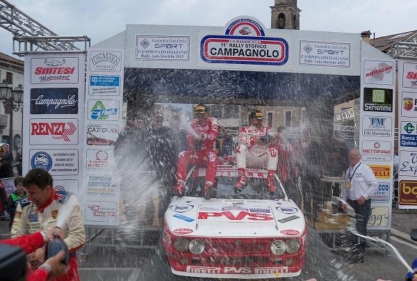 11° Rally Campagnolo & 7° Campagnolo Historic 2015: ecco i vincitori.