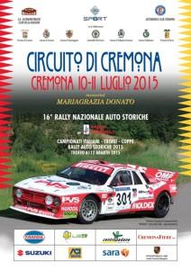 Locandina Circuito di Cremona 2015