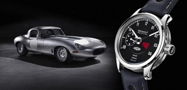 Orologio Bremont dedicato alla Jaguar E-Type.