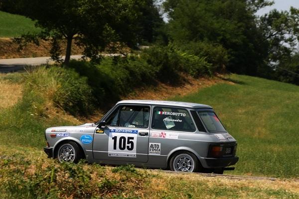 Trofeo A112 Abarth: al Rally Circuito di Cremona 2015 domina Nerobutto.