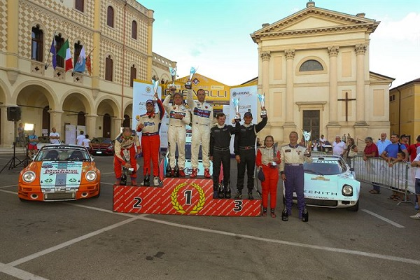 Rally Due Valli 2015: il duo Bianchini – Rossini vincono con la loro Lancia Rally 037.