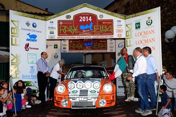 Presentazione XVII Rallye Elba Storico – Trofeo Locman Italy.