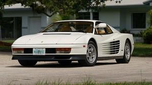Per canale ANSA Motori - credit Mecum Auction