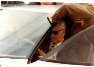Enzo Ferrari sulla Pinin