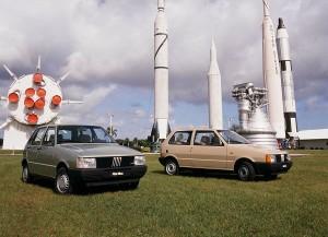 Fiat Uno a Cape Canaveral 1983