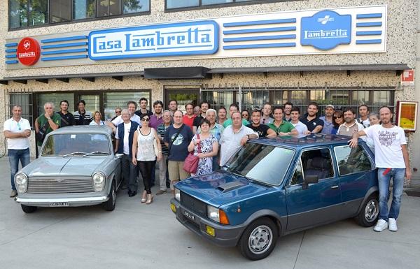 II° Raduno nazionale Innocenti: il raduno degli appassionati delle auto made in Lambrate.