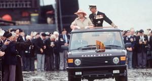 Range Rover Queen Elisabeth