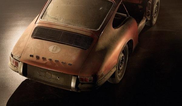 Ritrovata una rara Porsche 901.