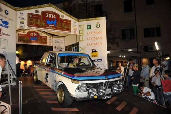 XXVII Rallye Elba Storico 2015: iscritti 123 equipaggi.