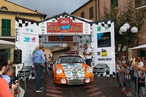 XXVII Rallye Elba Storico 2015: vittoria di Guagliardo e Granata.