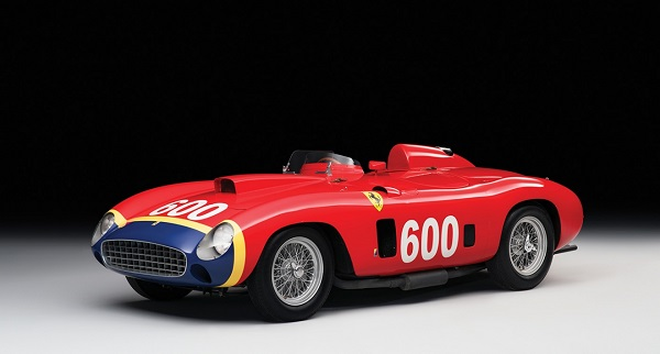 Ferrari 290 MM del 1956 ex-Fangio all'asta.