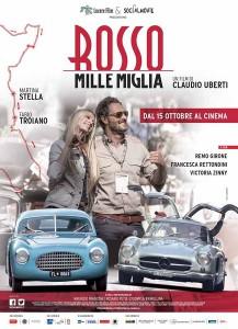 Locandina Film Rosso Mille Miglia