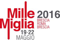 Logo date Mille Miglia 2016