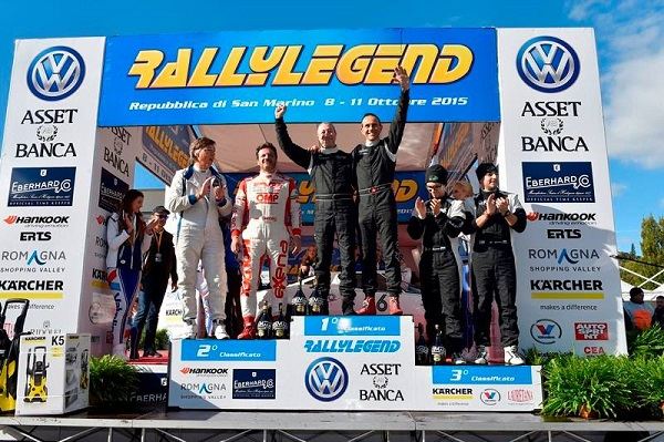 "Rallylegend 2015: Eric Comas ""Strato's-ferico""!"