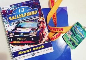 Rallylegend roadbook - 1
