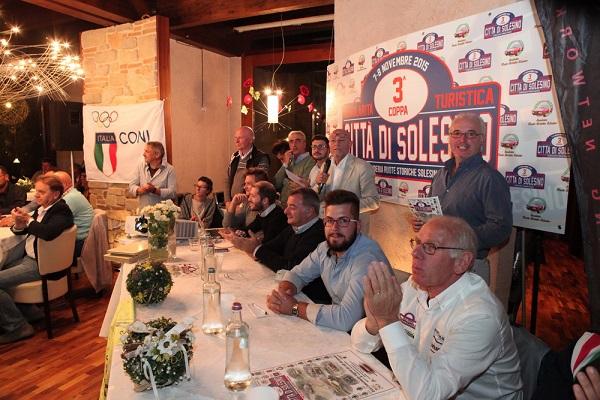 3^ Coppa Città di Solesino: presentazione e apertura delle iscrizioni alla gara.