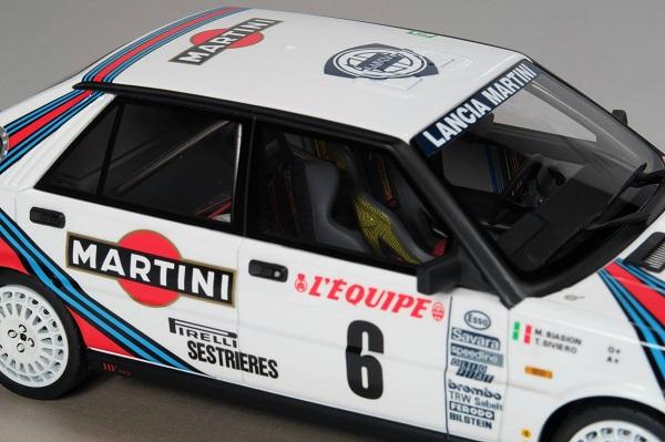 Modellino Lancia Delta 4WD vincitrice del Montecarlo