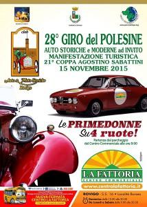 Locandina Giro del Polesine 2015