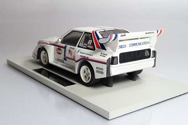 Modellino Audi Quattro Sport by Top Marques
