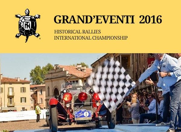 Campionato Grandi Eventi 2016.