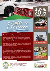 Locandina 1 Colli e Terme 2016